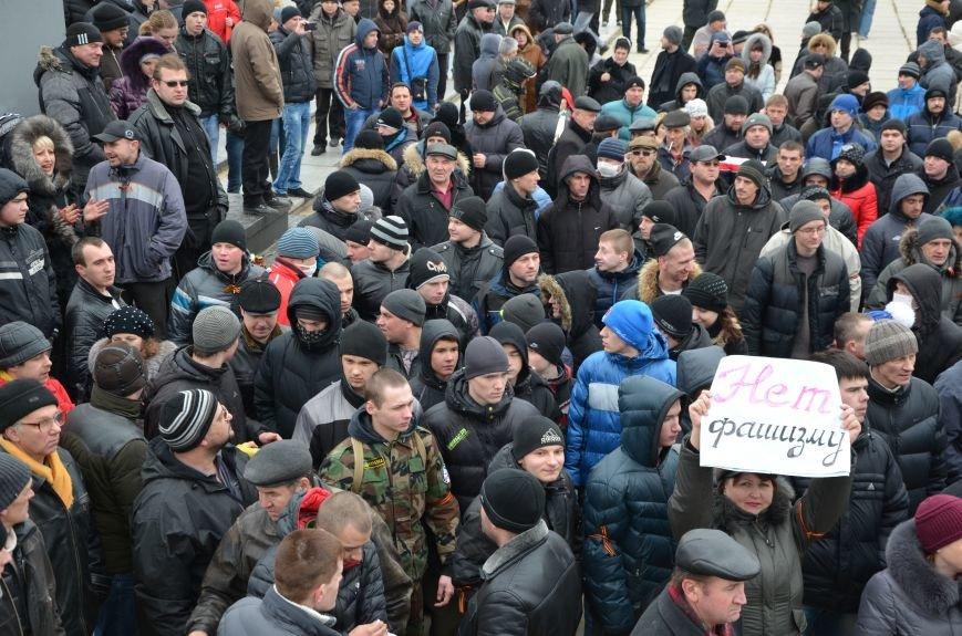 В Мариуполе Антимайдан пришел к Ленину поговорить со сторонниками Майдана (Дополнено ФОТО), фото-95