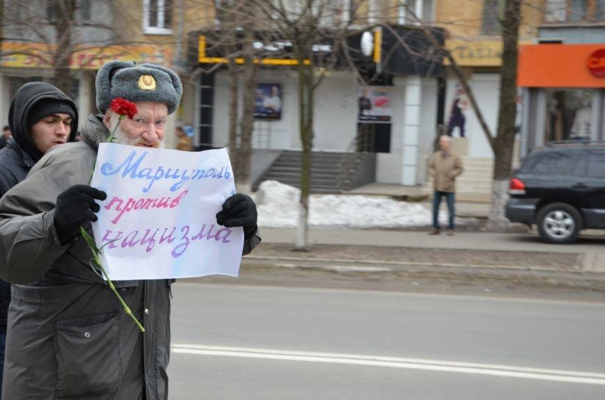 В Мариуполе Антимайдан пришел к Ленину поговорить со сторонниками Майдана (Дополнено ФОТО), фото-36