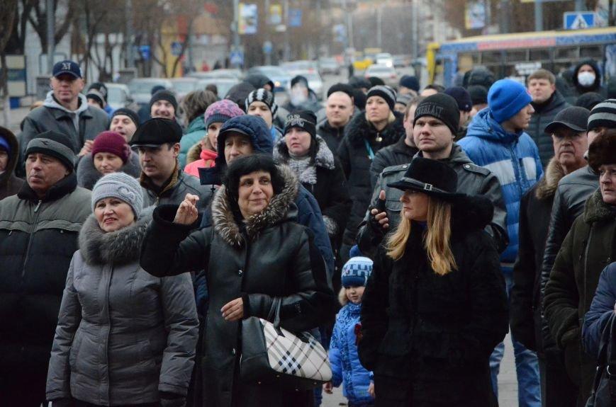 В Мариуполе Антимайдан пришел к Ленину поговорить со сторонниками Майдана (Дополнено ФОТО), фото-7