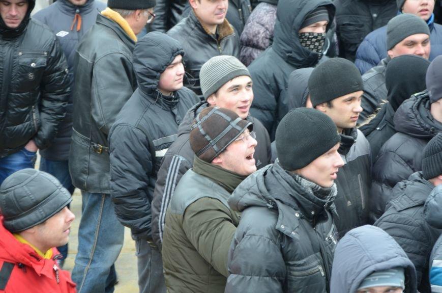 В Мариуполе Антимайдан пришел к Ленину поговорить со сторонниками Майдана (Дополнено ФОТО), фото-104
