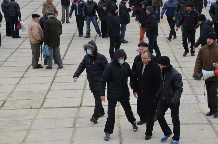 В Мариуполе Антимайдан пришел к Ленину поговорить со сторонниками Майдана (Дополнено ФОТО), фото-48