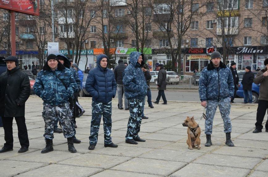 В Мариуполе Антимайдан пришел к Ленину поговорить со сторонниками Майдана (Дополнено ФОТО), фото-83