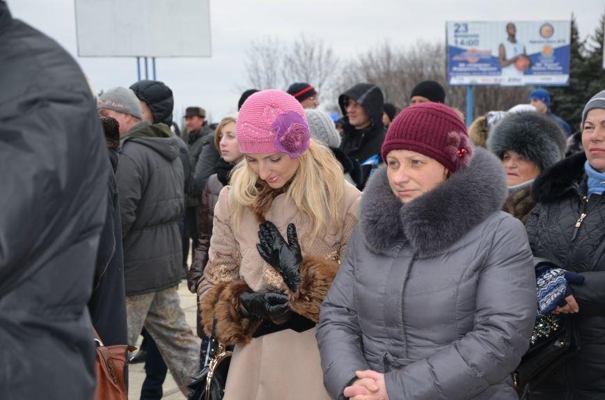В Мариуполе Антимайдан пришел к Ленину поговорить со сторонниками Майдана (Дополнено ФОТО), фото-73