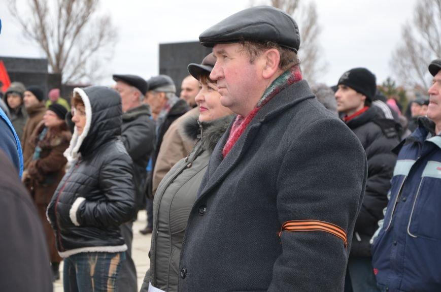В Мариуполе Антимайдан пришел к Ленину поговорить со сторонниками Майдана (Дополнено ФОТО), фото-74