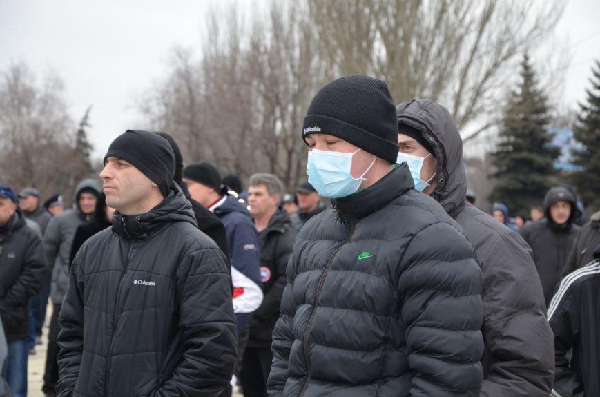 В Мариуполе Антимайдан пришел к Ленину поговорить со сторонниками Майдана (Дополнено ФОТО), фото-71
