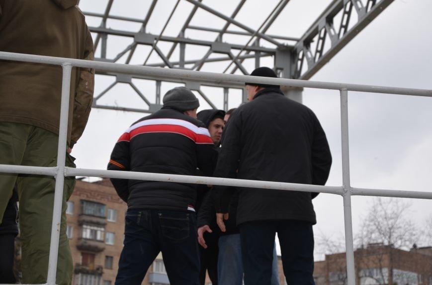 В Мариуполе Антимайдан пришел к Ленину поговорить со сторонниками Майдана (Дополнено ФОТО), фото-107