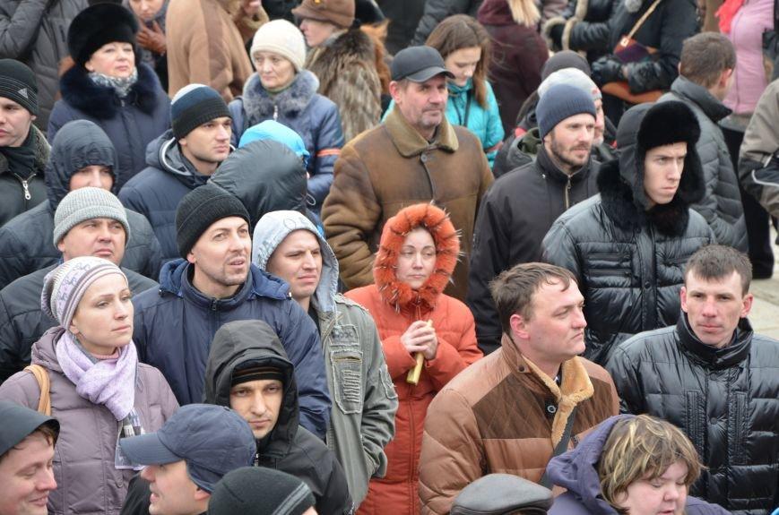 В Мариуполе Антимайдан пришел к Ленину поговорить со сторонниками Майдана (Дополнено ФОТО), фото-93