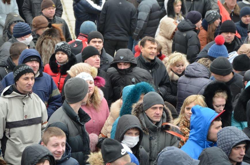В Мариуполе Антимайдан пришел к Ленину поговорить со сторонниками Майдана (Дополнено ФОТО), фото-99
