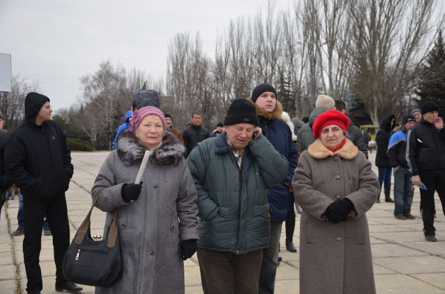 В Мариуполе Антимайдан пришел к Ленину поговорить со сторонниками Майдана (Дополнено ФОТО), фото-78
