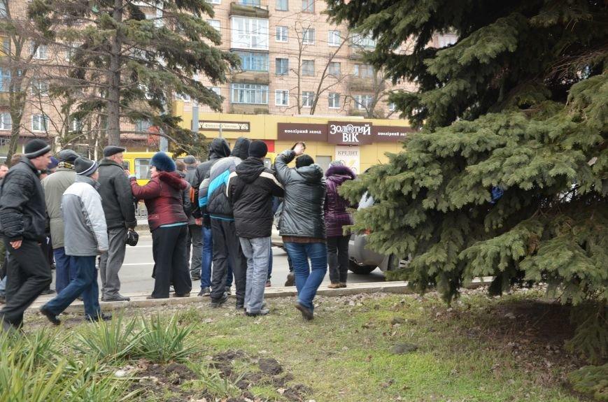 В Мариуполе Антимайдан пришел к Ленину поговорить со сторонниками Майдана (Дополнено ФОТО), фото-132