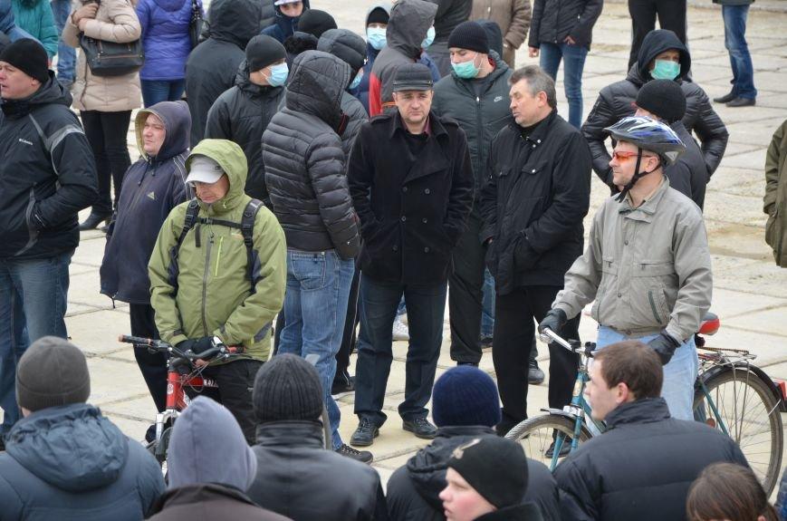 В Мариуполе Антимайдан пришел к Ленину поговорить со сторонниками Майдана (Дополнено ФОТО), фото-88