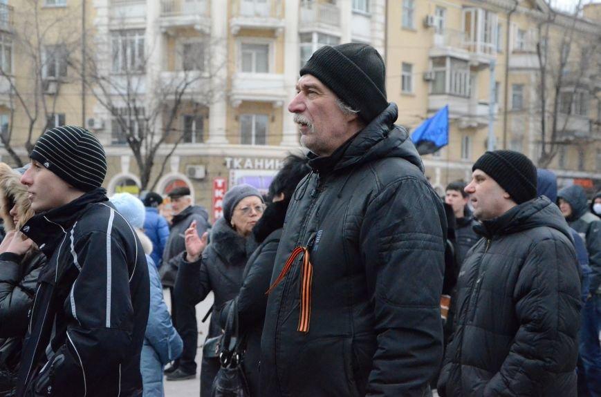 В Мариуполе Антимайдан пришел к Ленину поговорить со сторонниками Майдана (Дополнено ФОТО), фото-17