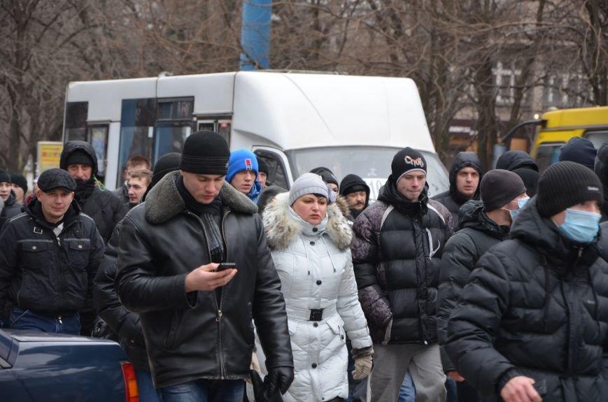 В Мариуполе Антимайдан пришел к Ленину поговорить со сторонниками Майдана (Дополнено ФОТО), фото-39