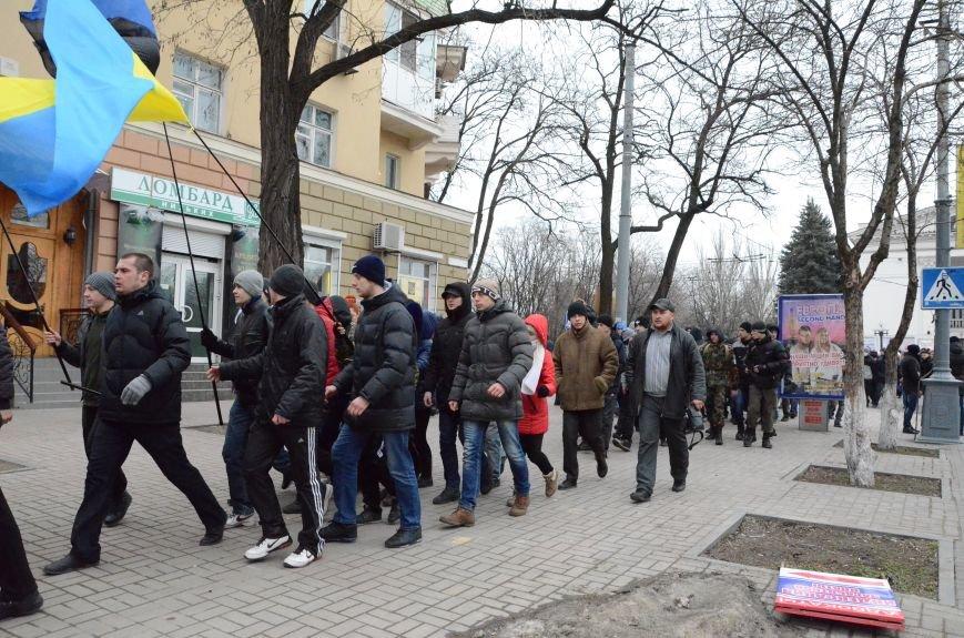 В Мариуполе Антимайдан пришел к Ленину поговорить со сторонниками Майдана (Дополнено ФОТО), фото-21