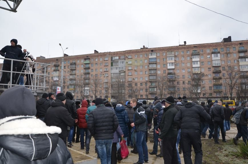 В Мариуполе Антимайдан пришел к Ленину поговорить со сторонниками Майдана (Дополнено ФОТО), фото-122