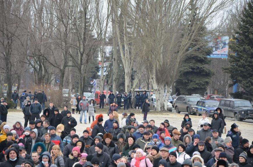 В Мариуполе Антимайдан пришел к Ленину поговорить со сторонниками Майдана (Дополнено ФОТО), фото-63