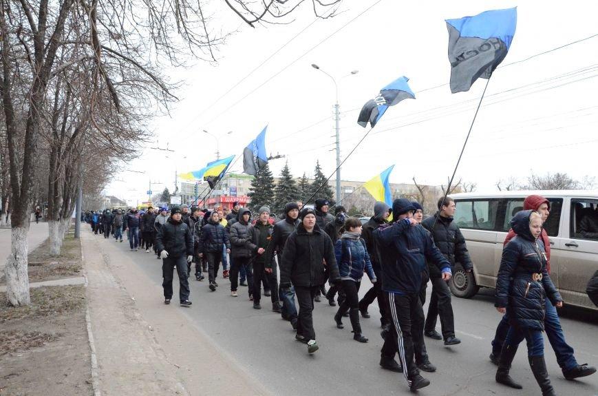 В Мариуполе Антимайдан пришел к Ленину поговорить со сторонниками Майдана (Дополнено ФОТО), фото-27