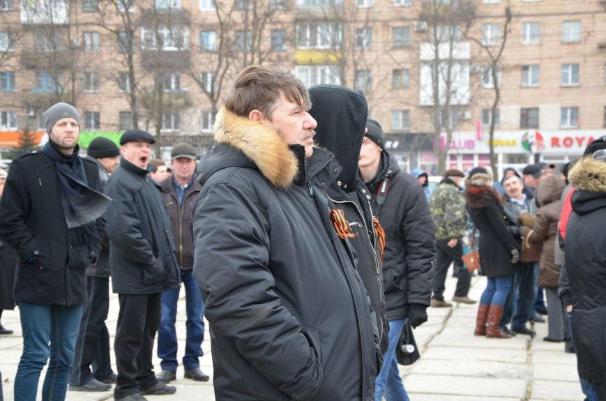 В Мариуполе Антимайдан пришел к Ленину поговорить со сторонниками Майдана (Дополнено ФОТО), фото-82