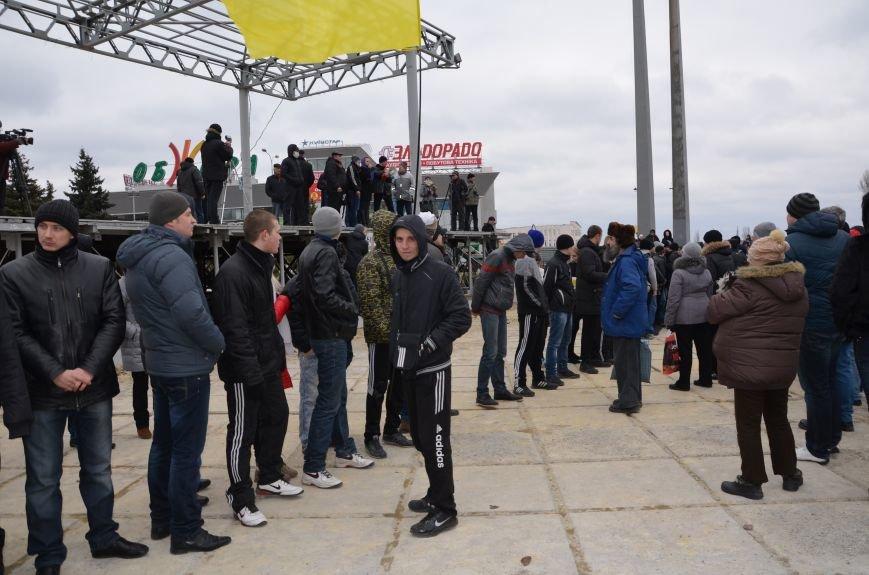 В Мариуполе Антимайдан пришел к Ленину поговорить со сторонниками Майдана (Дополнено ФОТО), фото-69
