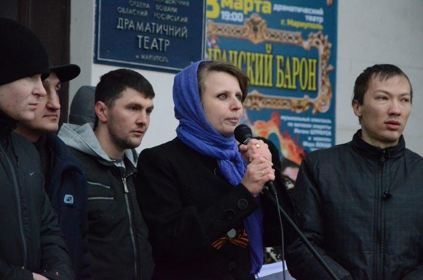 В Мариуполе Антимайдан пришел к Ленину поговорить со сторонниками Майдана (Дополнено ФОТО), фото-9