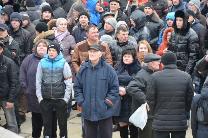 В Мариуполе Антимайдан пришел к Ленину поговорить со сторонниками Майдана (Дополнено ФОТО), фото-91