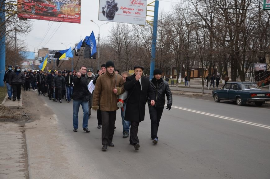 В Мариуполе Антимайдан пришел к Ленину поговорить со сторонниками Майдана (Дополнено ФОТО), фото-34