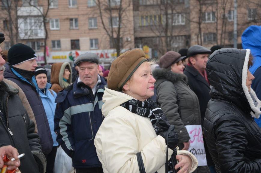 В Мариуполе Антимайдан пришел к Ленину поговорить со сторонниками Майдана (Дополнено ФОТО), фото-77