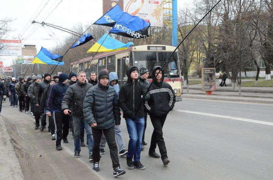 В Мариуполе Антимайдан пришел к Ленину поговорить со сторонниками Майдана (Дополнено ФОТО), фото-29