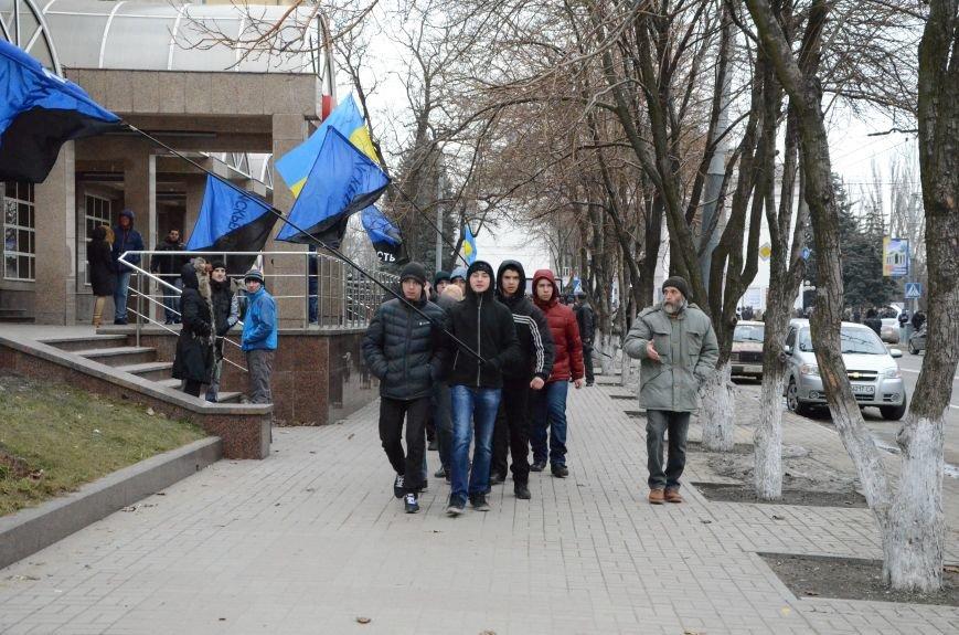 В Мариуполе Антимайдан пришел к Ленину поговорить со сторонниками Майдана (Дополнено ФОТО), фото-23
