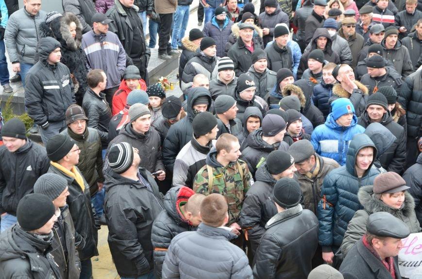 В Мариуполе Антимайдан пришел к Ленину поговорить со сторонниками Майдана (Дополнено ФОТО), фото-94