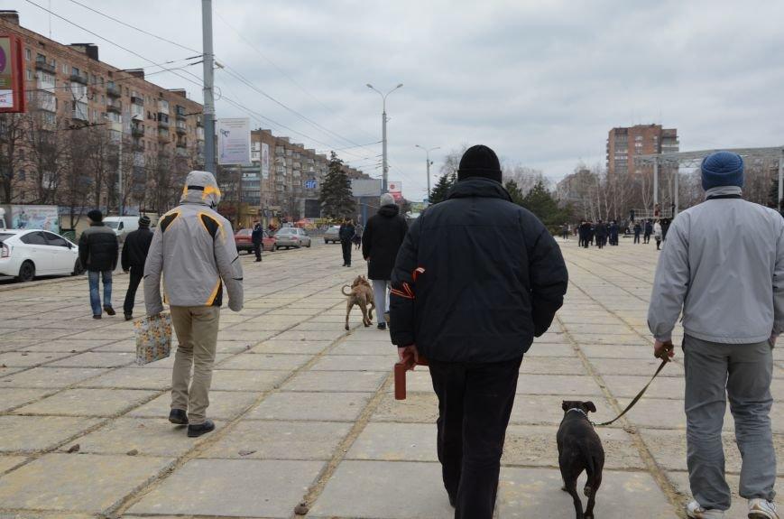 В Мариуполе Антимайдан пришел к Ленину поговорить со сторонниками Майдана (Дополнено ФОТО), фото-42