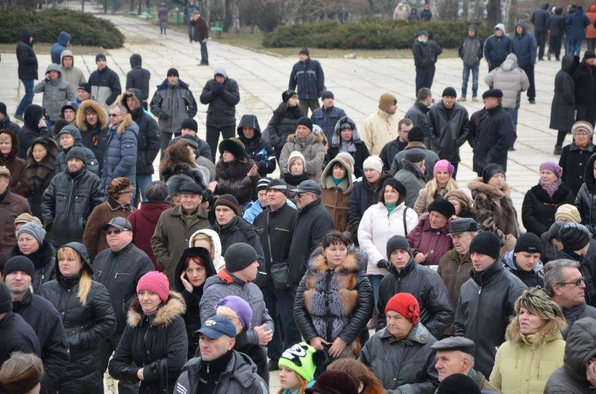 В Мариуполе Антимайдан пришел к Ленину поговорить со сторонниками Майдана (Дополнено ФОТО), фото-89