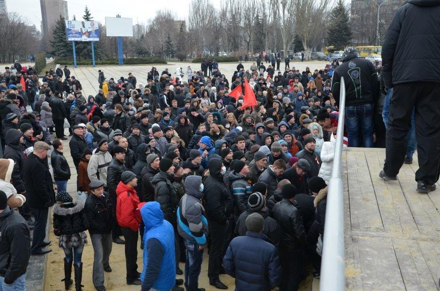 В Мариуполе Антимайдан пришел к Ленину поговорить со сторонниками Майдана (Дополнено ФОТО), фото-105