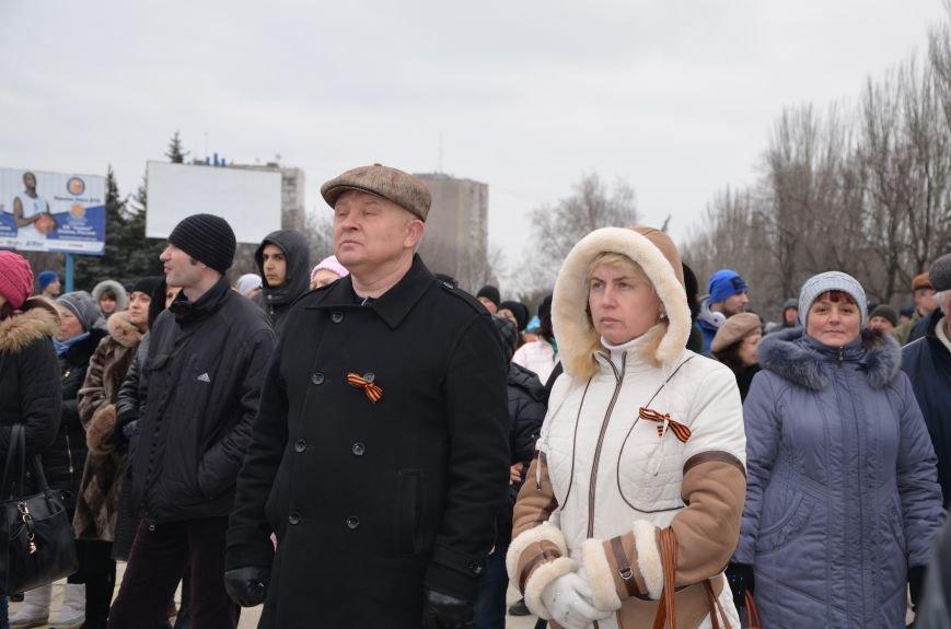 В Мариуполе Антимайдан пришел к Ленину поговорить со сторонниками Майдана (Дополнено ФОТО), фото-72