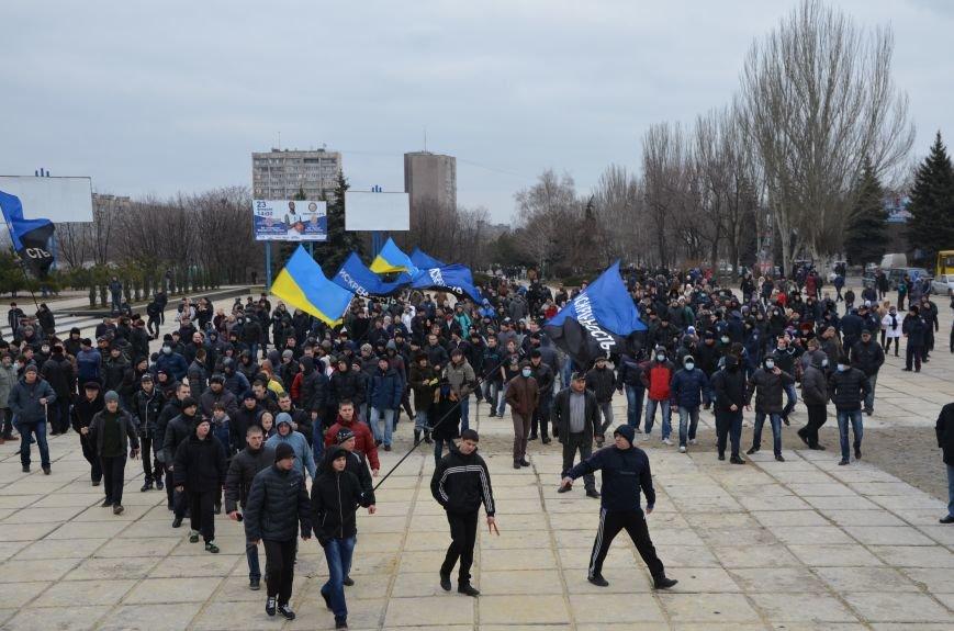В Мариуполе Антимайдан пришел к Ленину поговорить со сторонниками Майдана (Дополнено ФОТО), фото-52