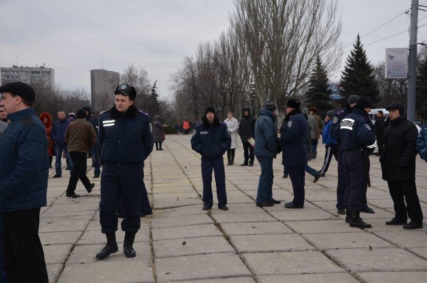 В Мариуполе Антимайдан пришел к Ленину поговорить со сторонниками Майдана (Дополнено ФОТО), фото-84