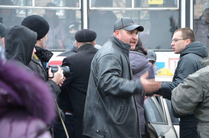 В Мариуполе Антимайдан пришел к Ленину поговорить со сторонниками Майдана (Дополнено ФОТО), фото-125