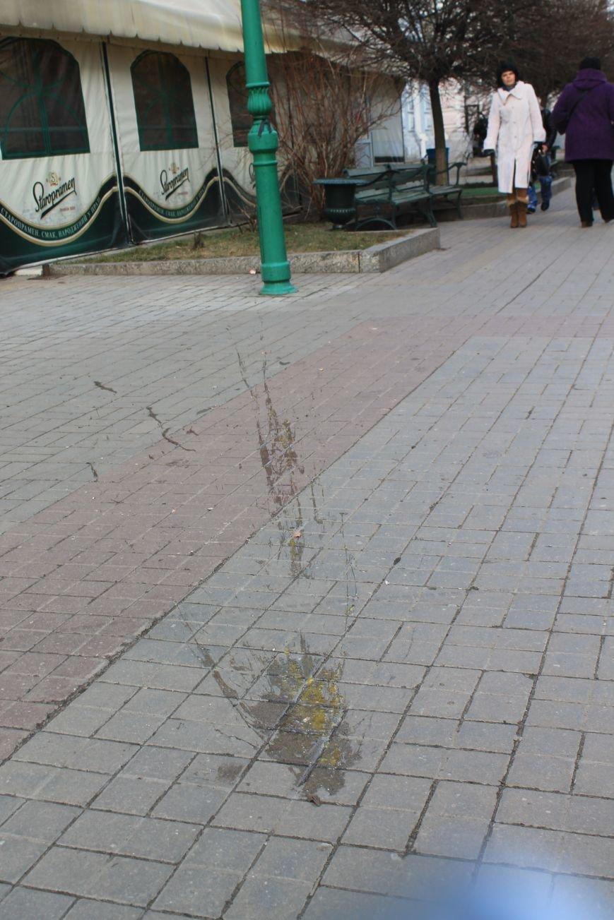 Мэра Сум заплевали и забросали яйцами во время отпевания погибшего на Майдане сумчанина (ФОТО+ВИДЕО), фото-4