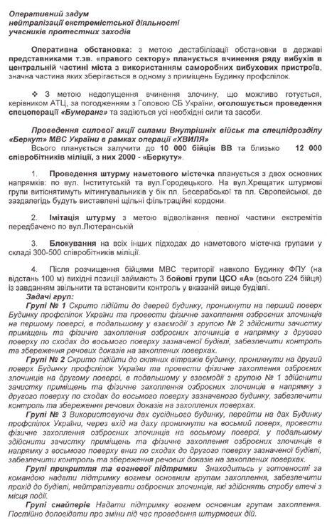 Обнародованы организаторы и причастные к убийствам людей на Майдане: планы и фамилии, фото-1