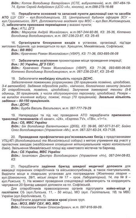 Обнародованы организаторы и причастные к убийствам людей на Майдане: планы и фамилии, фото-4