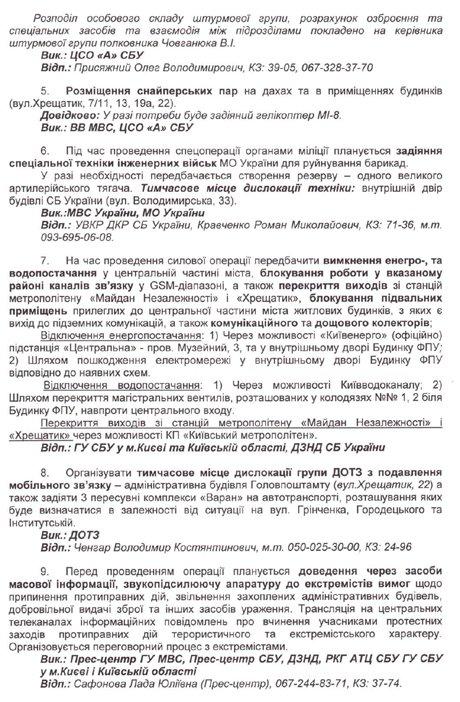 Обнародованы организаторы и причастные к убийствам людей на Майдане: планы и фамилии, фото-2