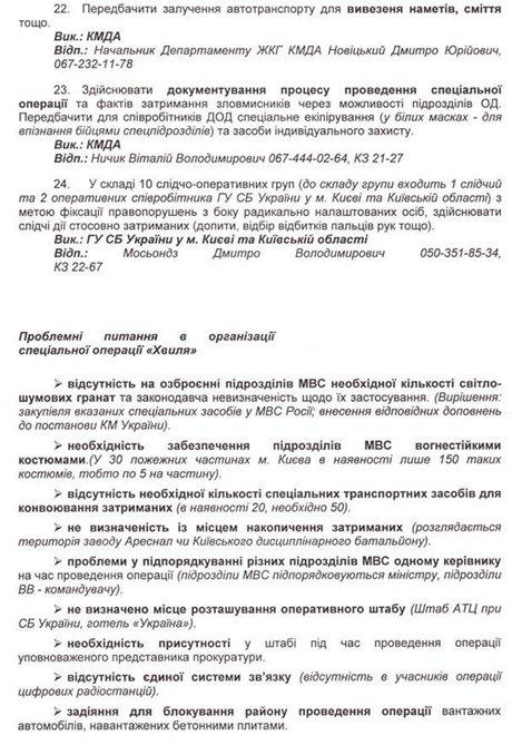 Обнародованы организаторы и причастные к убийствам людей на Майдане: планы и фамилии, фото-5