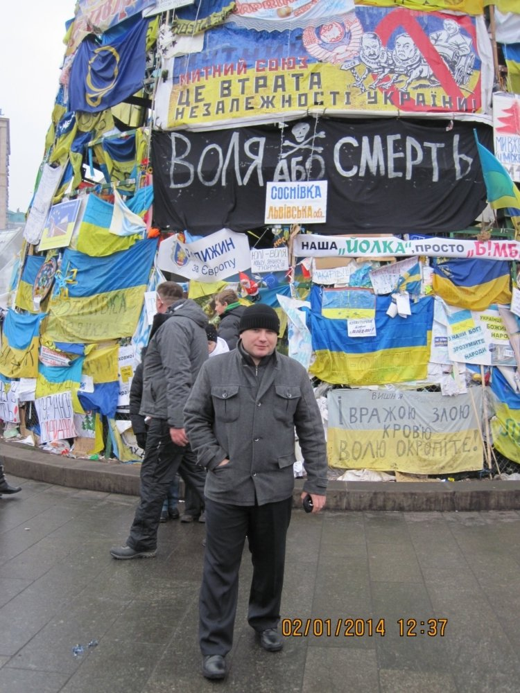 Сумские беркутовцы гуляли по Майдану в штатском и фотографировались (ФОТО), фото-3