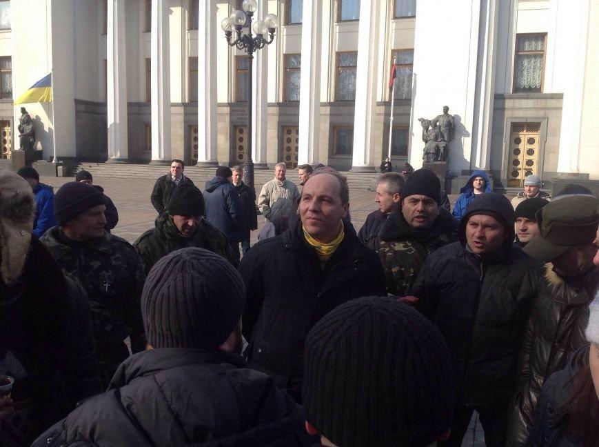 В Києві урочисто спилюють паркан навколо Верховної Ради (фото), фото-1