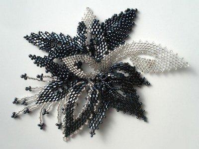 плетение бисером пример готового изделия 2