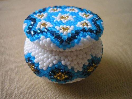плетение бисером пример готового изделия 3