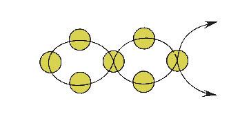 плетение бисером в технике крестик