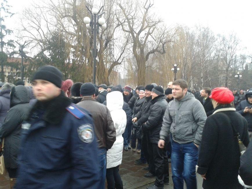 Криворожане продолжают прибывать на митинг за порядок (ФОТО), фото-5