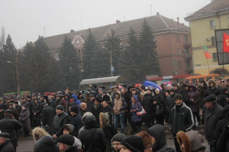 В Кривом Роге участники митинга за порядок потребовали закончить «беспредел» в городе (ФОТО), фото-13