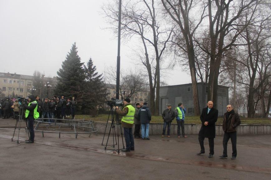 В Кривом Роге участники митинга за порядок потребовали закончить «беспредел» в городе (ФОТО), фото-8
